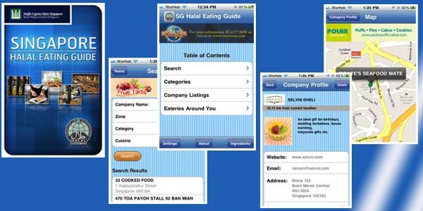 Aplikasi Penunjuk Lokasi Tempat Makanan Halal dari iPhone