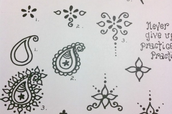 henna drawings for beginners. Black Bedroom Furniture Sets. Home Design Ideas