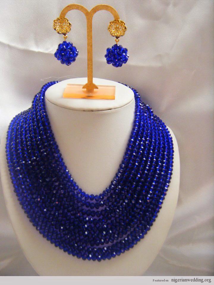 Twende Harusini: Nigerian Beads Necklace Designs.........