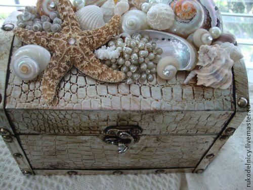 Manualidad Decoración con Conchas Marinas