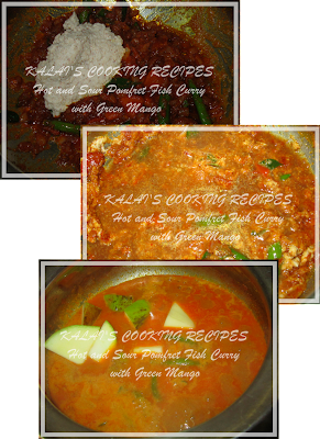 Hot and Sour Pomfret Fish Curry with Green Mango