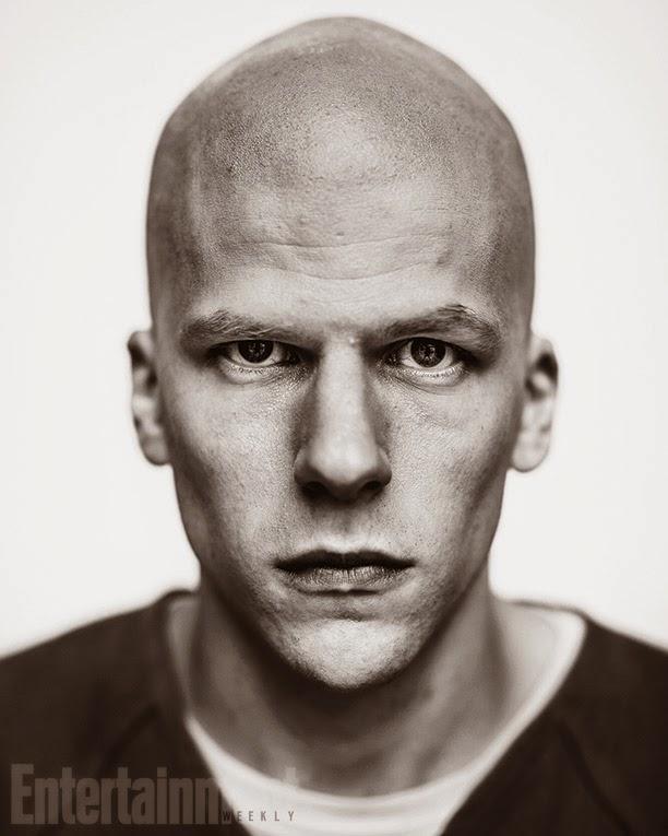 Jesse Eisenber como Lex Luthor