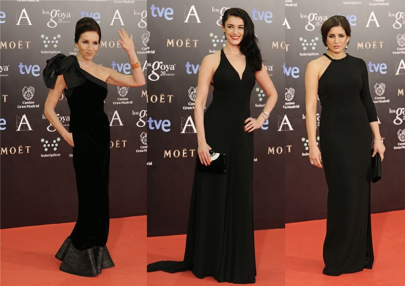All in one vestidos goya 2014 for Adolfo dominguez goya