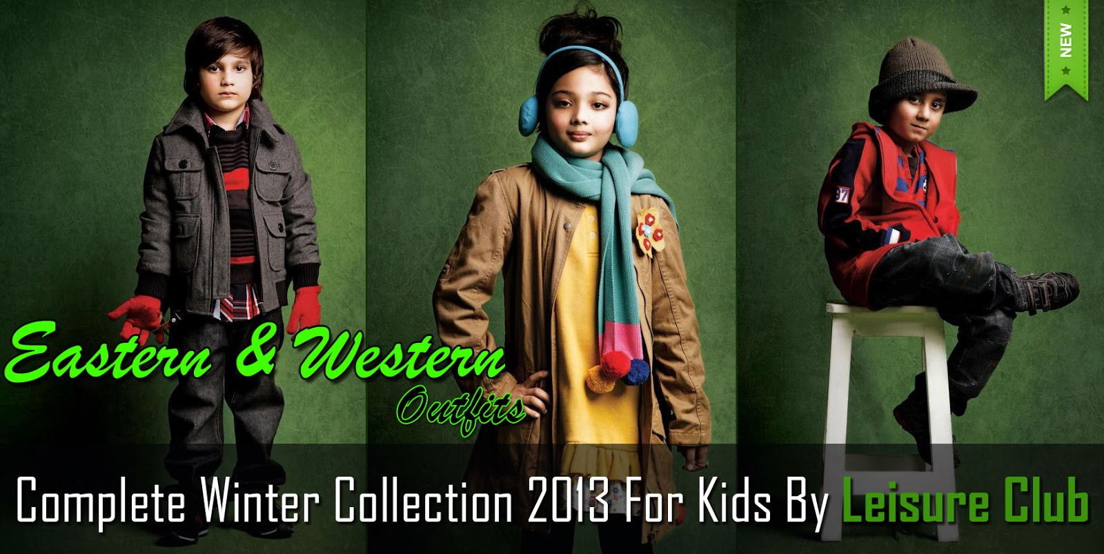 Complete Winter Collection 2013 For Kids By Leisure Club ...