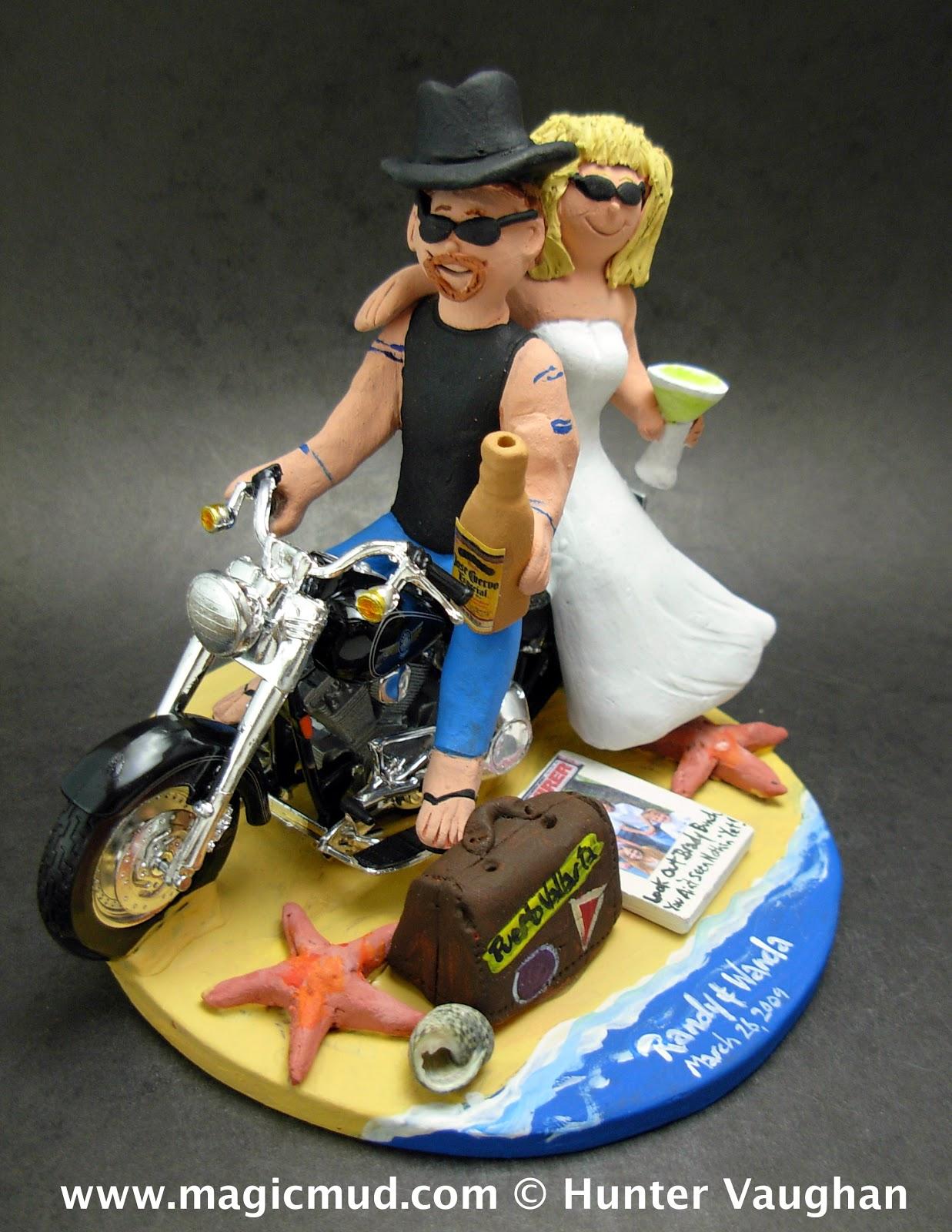 Similiar Custom Harley Davidson Cake Toppers Keywords