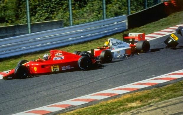 Batida entre Senna e Prost Gp do Japão 1990