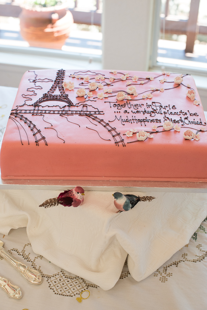 parisian themed bridal shower