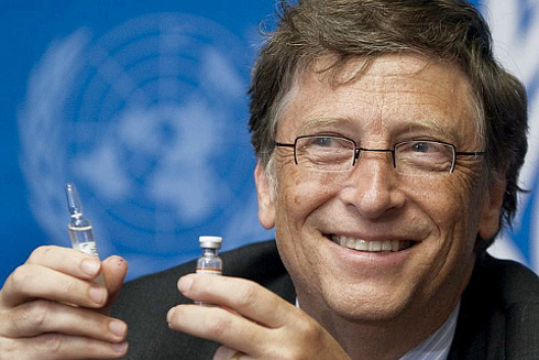 Why do so many morons believe Bill Gates is a good guy just because he hides or throws some money at charities? #1