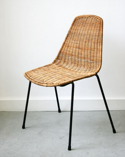 Colecci n siglo xx antig edades y dise o silla basket - Sillas apilables diseno ...