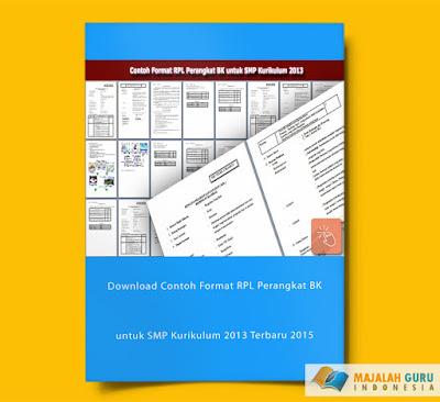 Download Contoh Format RPL Perangkat BK untuk SMP Kurikulum 2013 Terbaru 2015