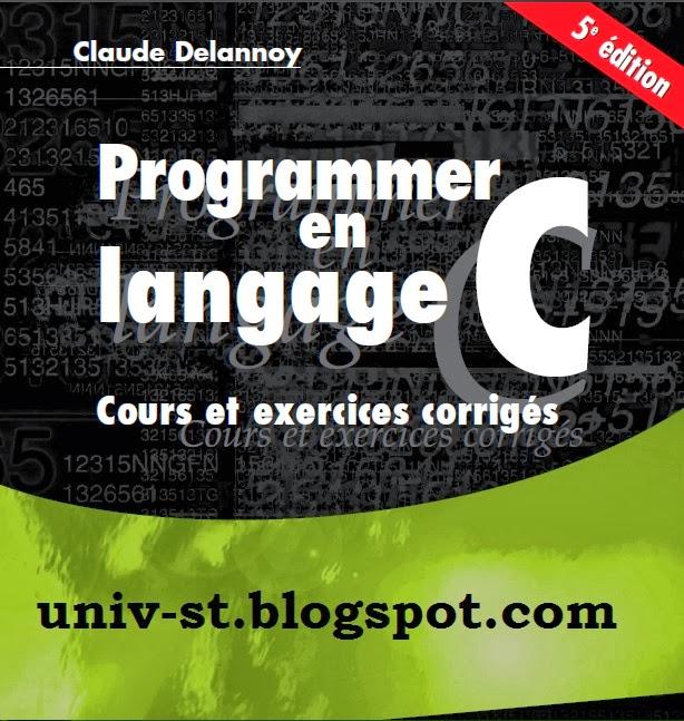 Programmer en langage C .. Cours et Exercice Courrig�s pro+c.jpg