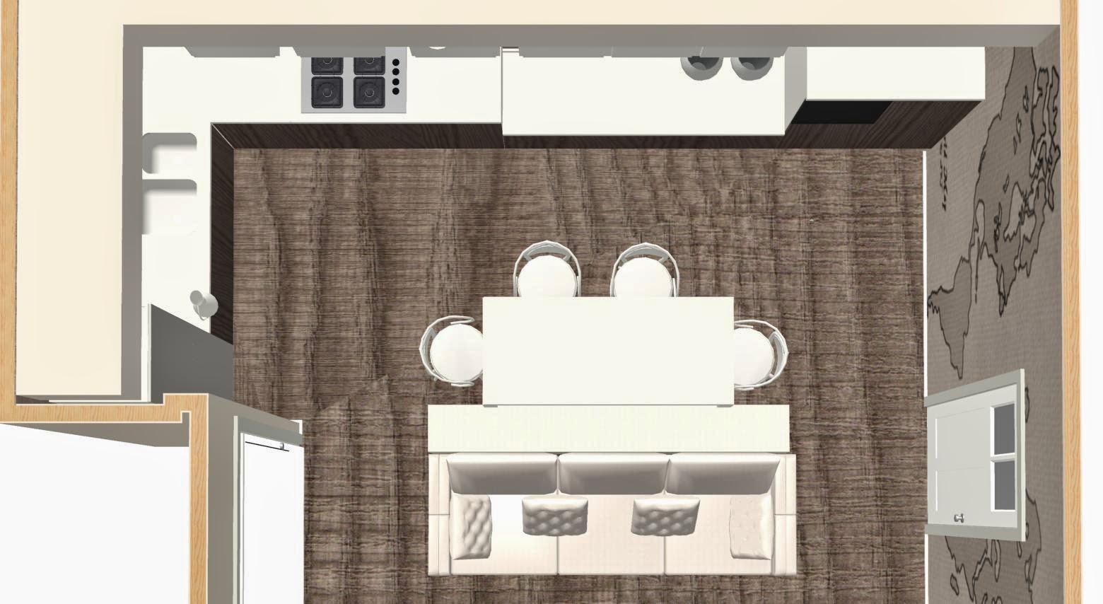 arredare un ambiente unico - Unico Ambiente Cucina Salone 2