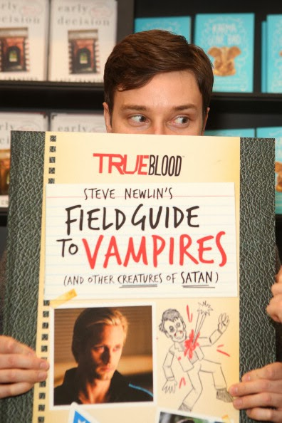 """True Blood: Steve Newlin's Field Guide To Vampires"" Book Signing"