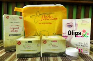 Florin Paket Normal Cream Khusus Memutihkan Wajah