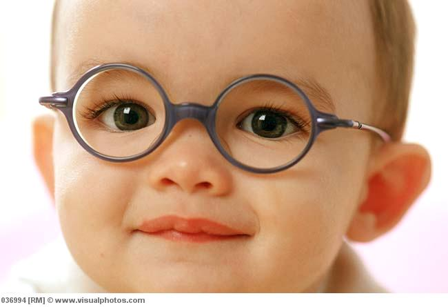 Funny Babies Wearing Glasses - The Funny Baby Wallpaper