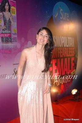 Kareena Kapoor at Cosmopiltan Awards 4