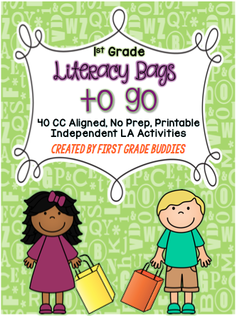 https://www.teacherspayteachers.com/Product/Literacy-Bags-for-1st-Grade-To-Go-40-Printable-No-Prep-CC-Literacy-Centers-1730882