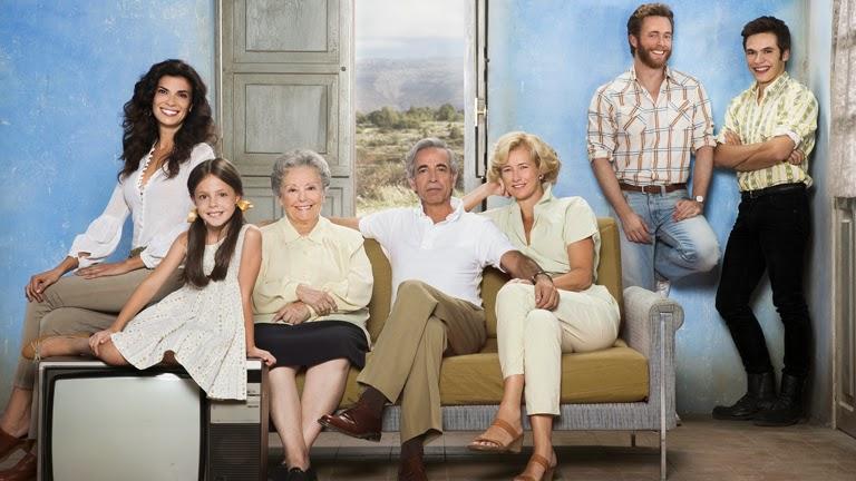 cuéntame cómo pasó serie televisión española, los alcántara, niños, mayores, imanol arias, clasicos de la television
