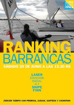 Nueva Fecha Ranking Barrancas