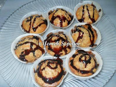 Vişne Reçelli Muffin Tarifi