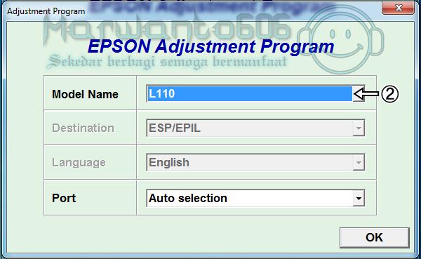 Epson l110 adjustment program инструкция