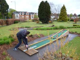 Ping Pong Crazy Golf at Stoke Park, Guildford
