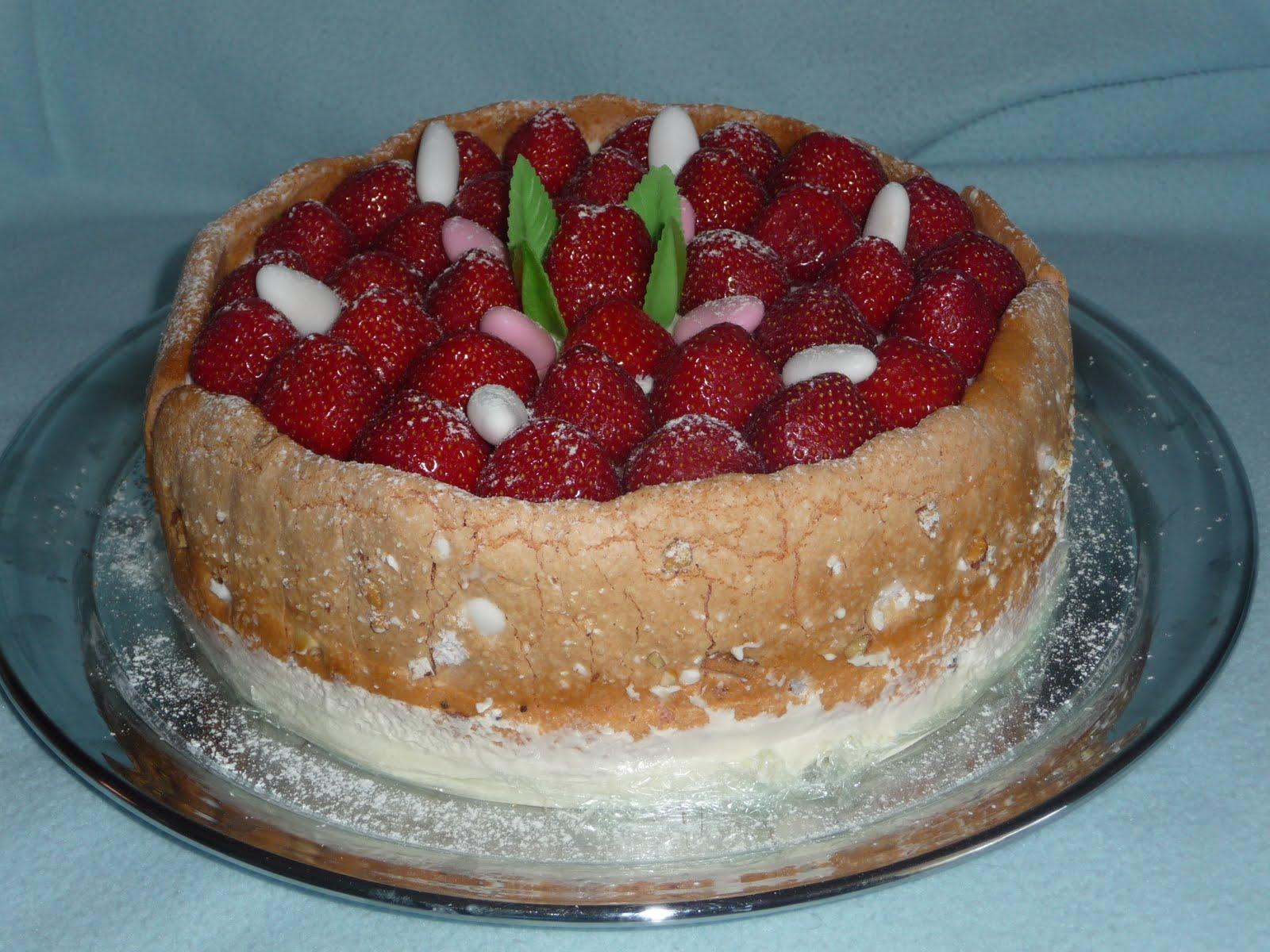 La cuisine de chris charlotte aux fraises et drag es de - Jeux de charlotte aux fraises cuisine gateaux ...