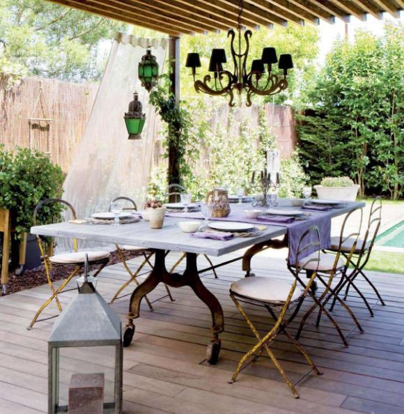 Inspire bohemia outdoor dining parties part i for 64 rustic terrace bristol ct