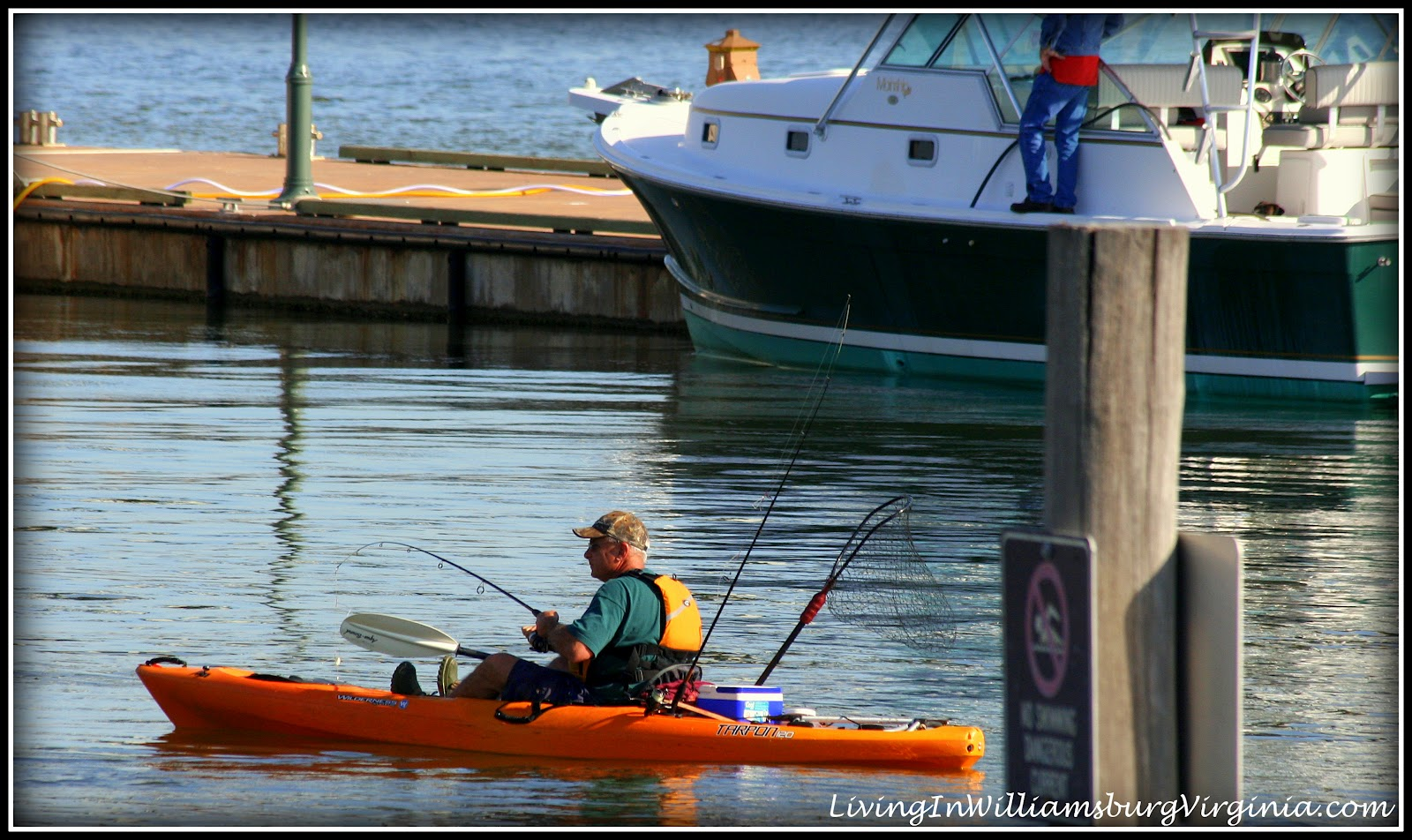 Living in williamsburg virginia kayak fishing york for Fishing in williamsburg va