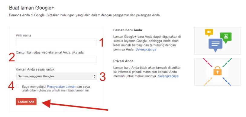 Langkah-langkah Membuat Laman di Google+ Indonesia