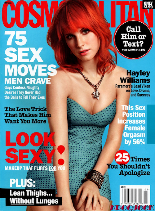 hayley williams cosmopolitan photos. hayley williams cosmopolitan.