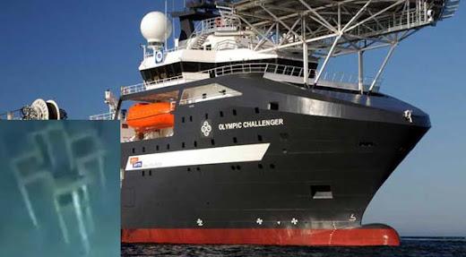 Olympic Challenger- Quién instalado este objeto en el fondo del oceano