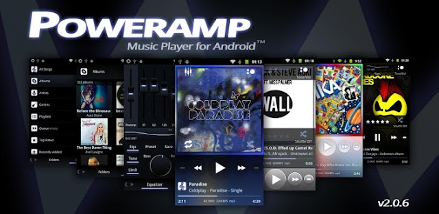 Poweramp Music Player FULL v2.0.8-build-521 + Widget Pack/Classic Skin