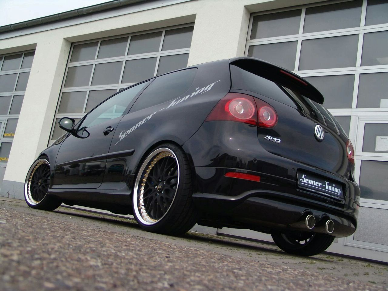 Vw Golf V R32 By Senner Tuning Car Tuning Styling