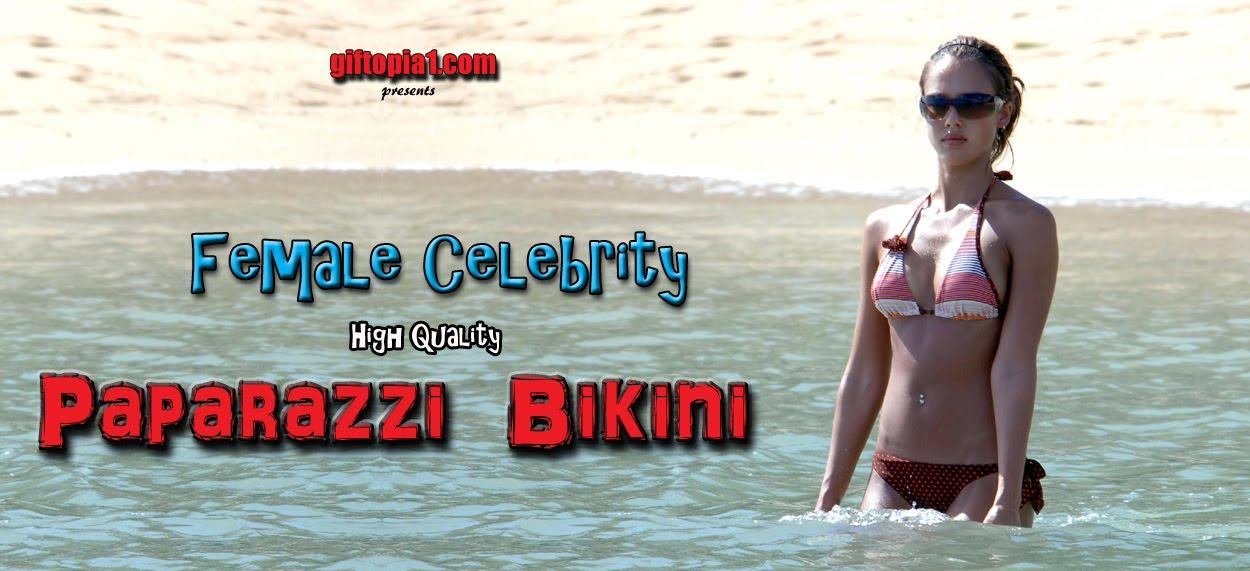 Celebrity Paparazzi Bikini