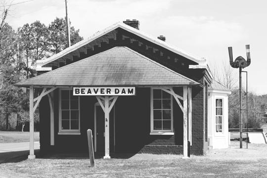 beaver dam train depot