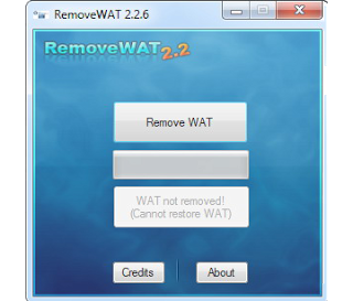 Windows 7 Genuine Activation RemoveWAT 2.2.6.0 Free Download Full Version