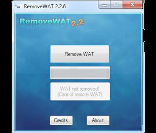 Windows 7 Genuine Activation RemoveWAT 2.2.6.0 Free Download Full Version