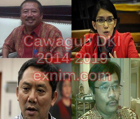 Ini 4 Sosok Yang Jadi Kandidat Wagub DKI Dampingi Ahok