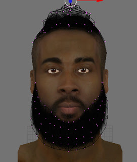 NBA 2K13 James Harden Cyberface Patch Download