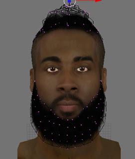 NBA 2K13 James Harden Cyberface Patch Download