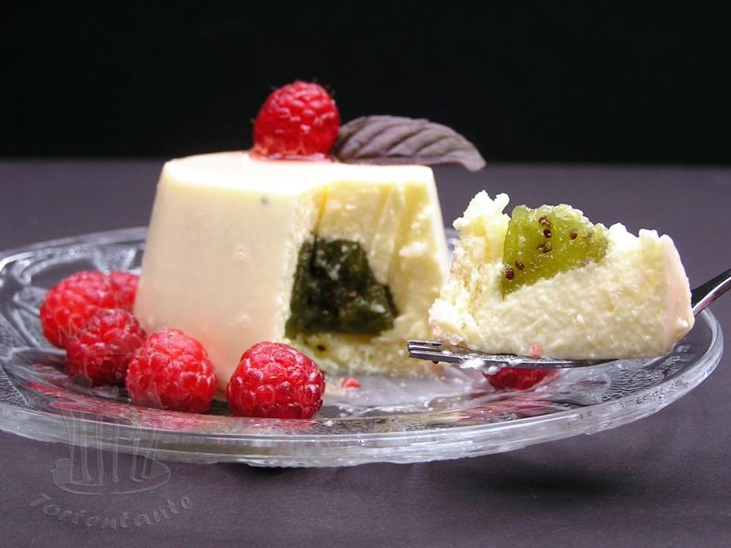 Joghurt Torte Matthias Ludwig Törtchen Kiwi Mousse