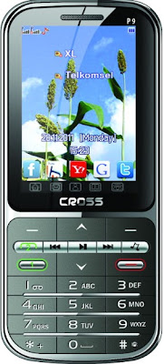 Cross V6, Handphone Candybar TV