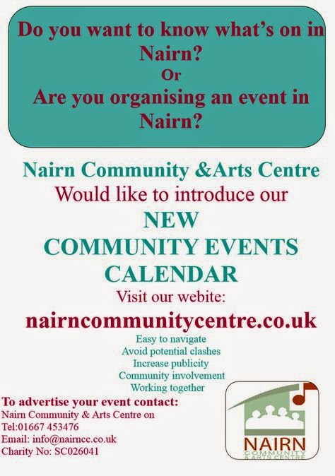 Community Centre's what's on in Nairn list