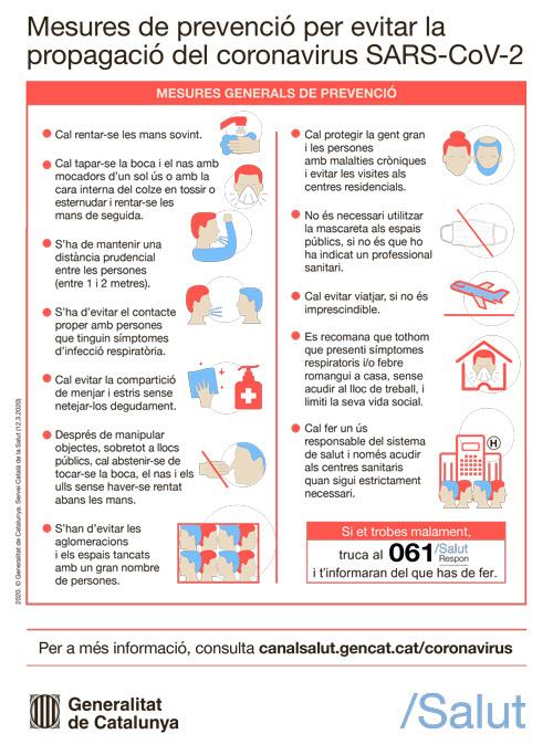 Mesures de prevenció