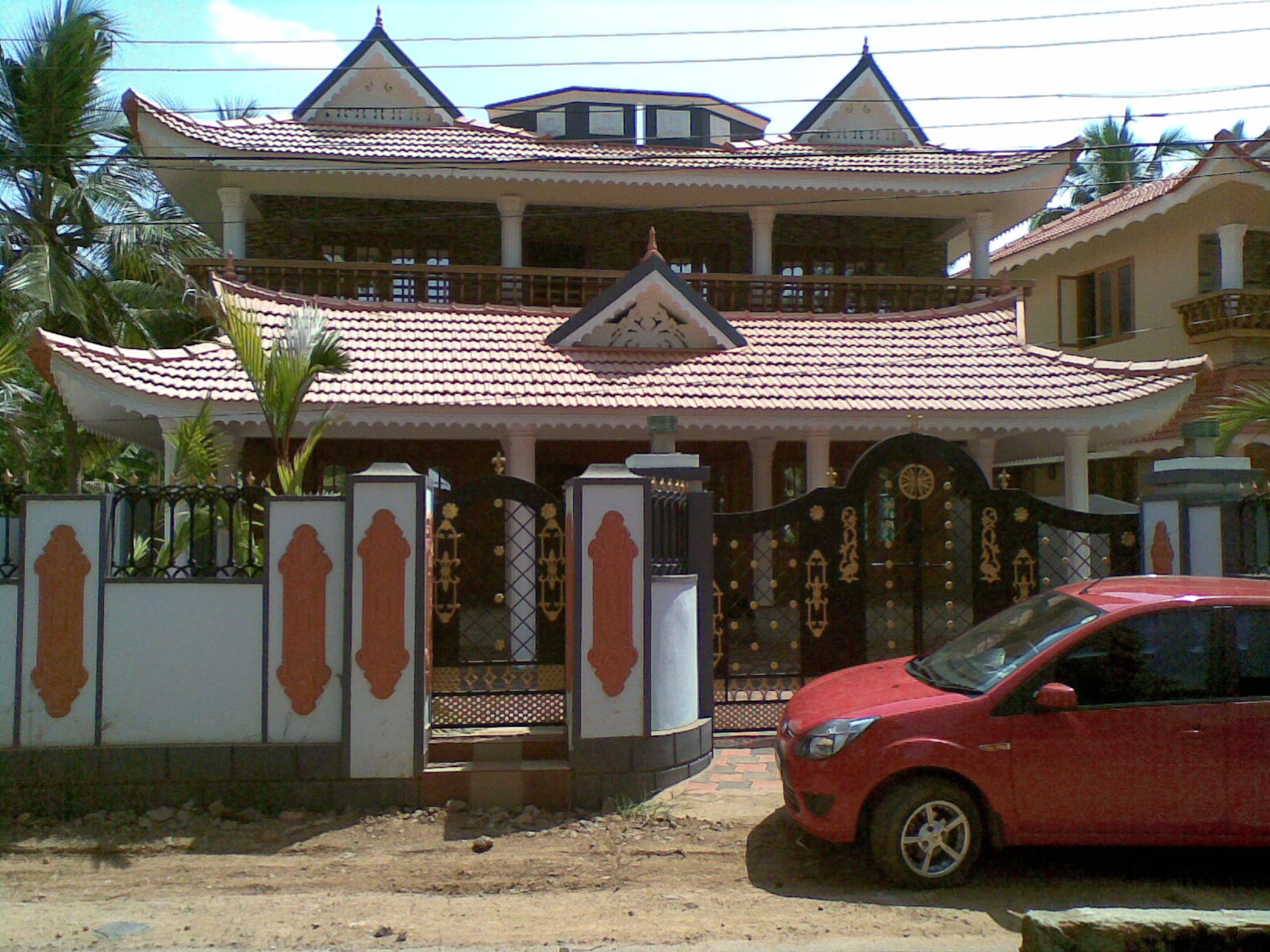 Kerala real estate listings new 5 bedroom 4000 square for 4000 sq ft house cost