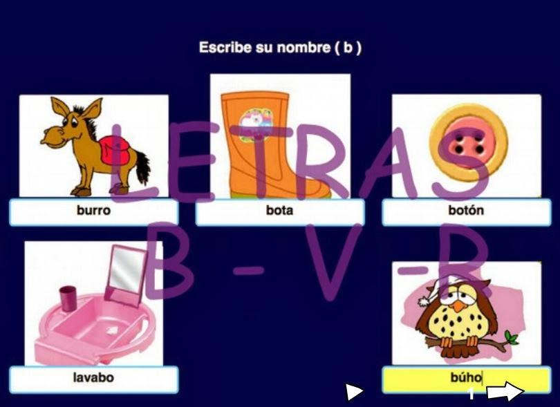 http://www.ceiploreto.es/sugerencias/ceipchanopinheiro/1/b_v/letras__b___v__.html