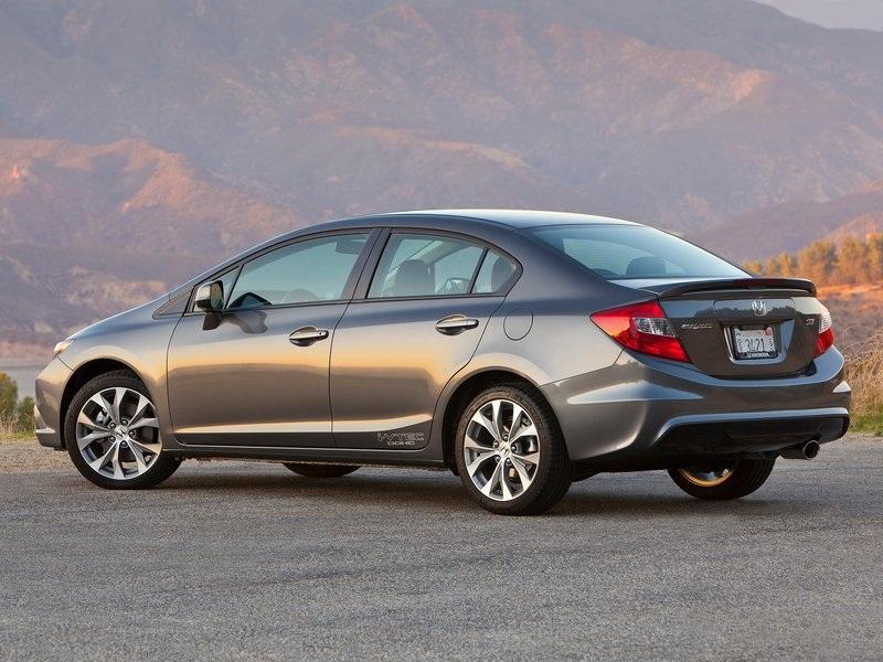 Honda Civic Si Sedan 2012 2013 Review And Video