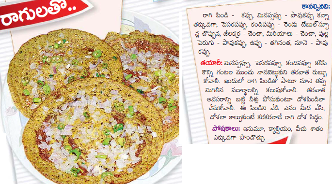 Healthy food recipes ragi dosa recipe in telugu ragi dosa recipe in telugu forumfinder
