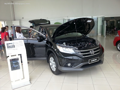IN DIGITAL COLOUR: The New Honda 4th Generation CR-V 2.0 2013 Review